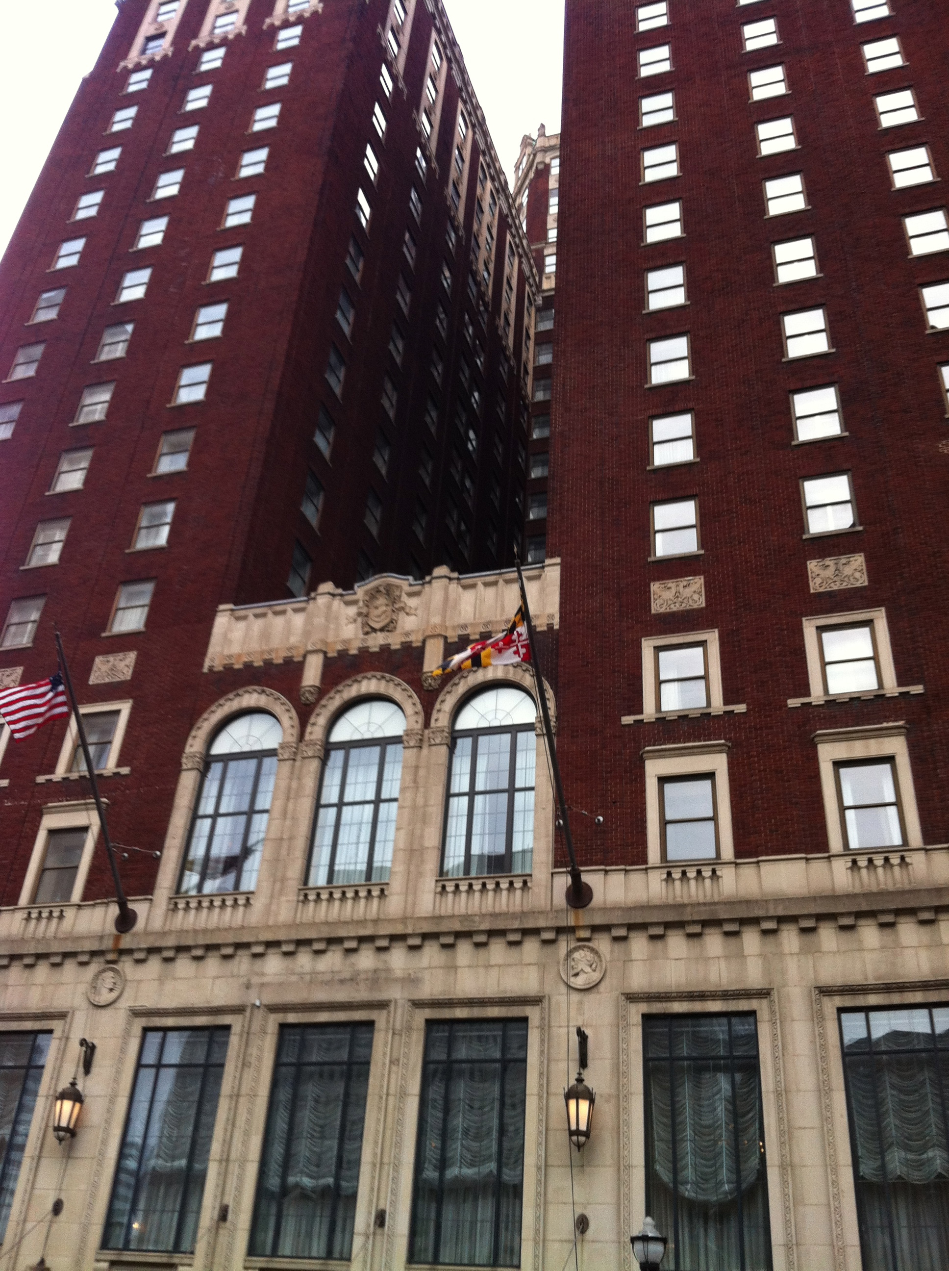 Baltimore maryland cooking with fire for Lord of baltimore hotel